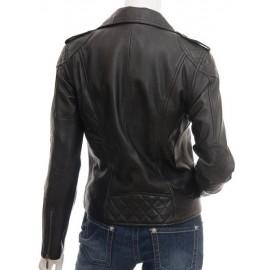 Dulce- Women's Genuine Leather Biker Jacket