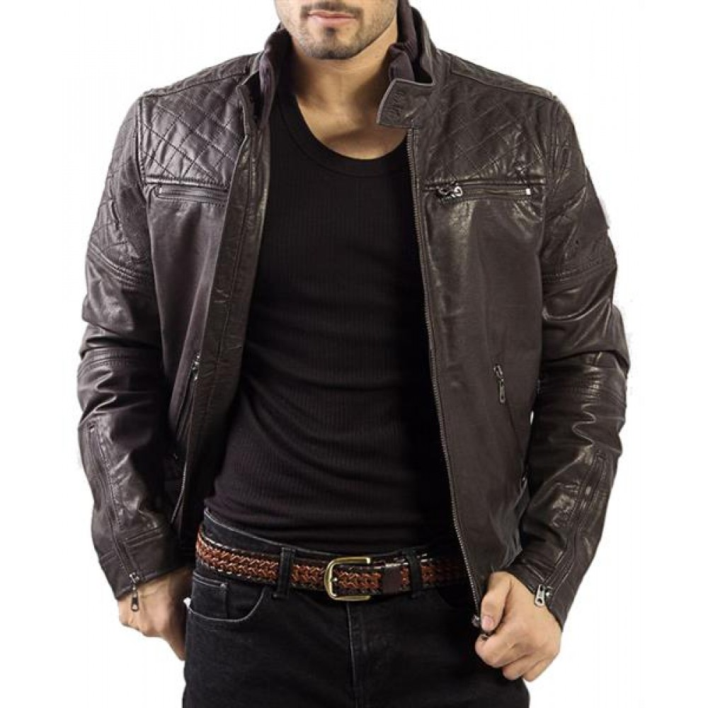 Filipo – Men's Genuine Leather Bomber Jacket