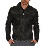 New Royal Men Club Biker Real Genuine Leather Jacket